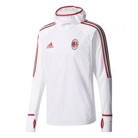 AC Milan Training Warm-Up Top - White