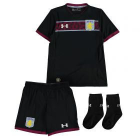 Aston Villa Away Infant Kit 2017-18