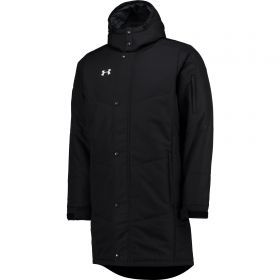 Aston Villa Coldgear Infrared Elevate Jacket - Black/White