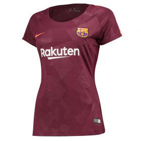 Barcelona Third Stadium Shirt 2017-18 - Womens with Messi 10 printing