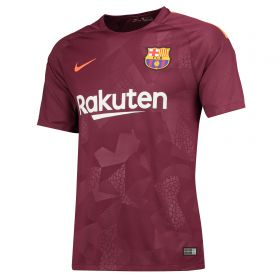 Barcelona Third Stadium Shirt 2017-18 with A. Iniesta 8 printing