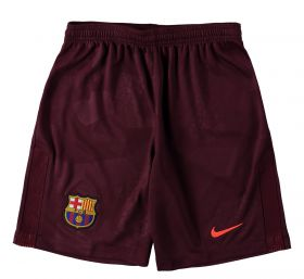 Barcelona Third Stadium Shorts 2017-18 - Kids