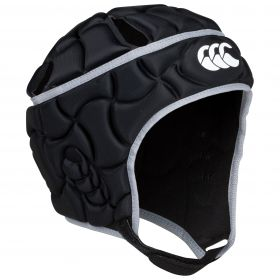Canterbury Club Plus Headguard - Black/Silver