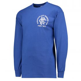 Glasgow Rangers 1972 ECWC Final shirt