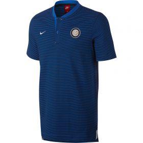 Inter Milan Authentic Grand Slam Polo - Royal Blue