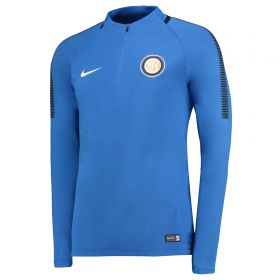 Inter Milan Squad Drill Top - Royal Blue
