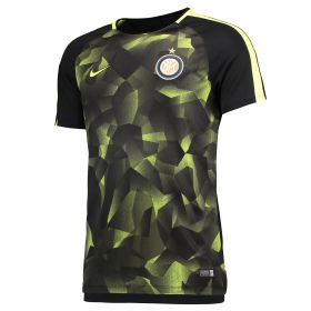 Inter Milan Squad Pre Match Top - Black
