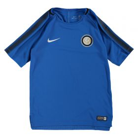 Inter Milan Squad Training Top - Royal Blue - Kids