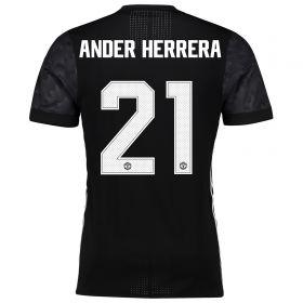 Manchester United Away Adi Zero Cup Shirt 2017-18 with Ander Herrera 21 printing
