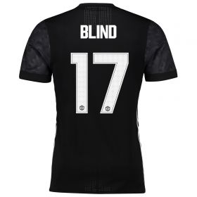 Manchester United Away Adi Zero Cup Shirt 2017-18 with Blind 17 printing