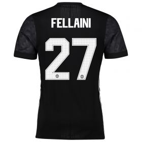 Manchester United Away Adi Zero Cup Shirt 2017-18 with Fellaini 27 printing