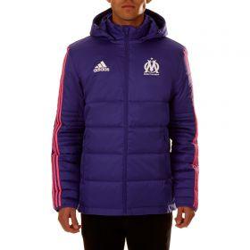 Olympique de Marseille Cup Winter Jacket - Purple