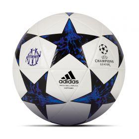 Olympique de Marseille Finale 17 Capitano Football - Size 5 - White