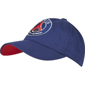 Paris Saint-Germain Repeat Print Cap - Navy - Junior