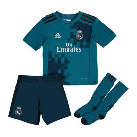 Real Madrid Third Mini Kit 2017-18 with Theo 15 printing