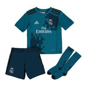 Real Madrid Third Mini Kit 2017-18 with Zidane 5 printing