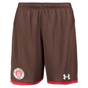 St Pauli Home Shorts 2017-18 Inset