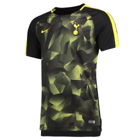 Tottenham Hotspur Squad Pre Match Top - Black