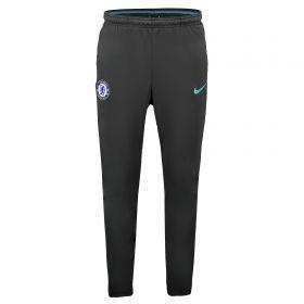 Chelsea Squad Track Pant - Black