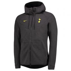 Tottenham Hotspur Authentic Tech Fleece Windrunner - Black