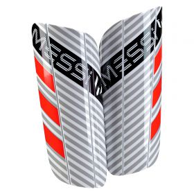adidas Messi 10 Shinguards - White/Clear Onix/Black