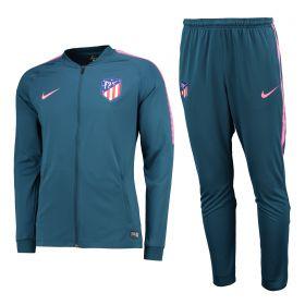 Atlético de Madrid Squad Knit Tracksuit - Lt Blue