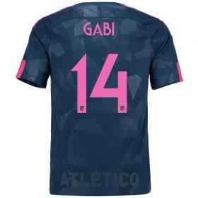 Atlético de Madrid Third Stadium Shirt 2017-18 Special Edition Metropolitano with Gabi 14 printing