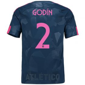 Atlético de Madrid Third Stadium Shirt 2017-18 Special Edition Metropolitano with Godín 2 printing