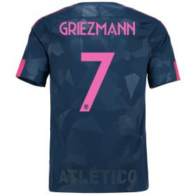 Atlético de Madrid Third Stadium Shirt 2017-18 Special Edition Metropolitano with Griezmann 7 printing