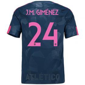 Atlético de Madrid Third Stadium Shirt 2017-18 Special Edition Metropolitano with J.M. Giménez 24 printing