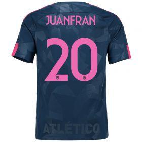Atlético de Madrid Third Stadium Shirt 2017-18 Special Edition Metropolitano with Juanfran 20 printing