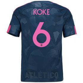 Atlético de Madrid Third Stadium Shirt 2017-18 Special Edition Metropolitano with Koke 6 printing