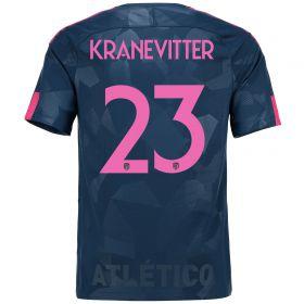 Atlético de Madrid Third Stadium Shirt 2017-18 Special Edition Metropolitano with Kranevitter 23 printing