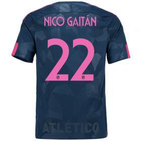 Atlético de Madrid Third Stadium Shirt 2017-18 Special Edition Metropolitano with Nico Gaitán 22 printing