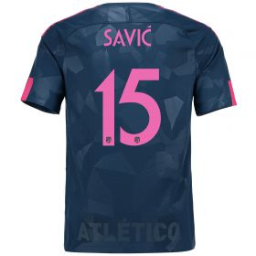 Atlético de Madrid Third Stadium Shirt 2017-18 Special Edition Metropolitano with Savic 15 printing