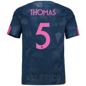 Atlético de Madrid Third Stadium Shirt 2017-18 Special Edition Metropolitano with Thomas 5 printing