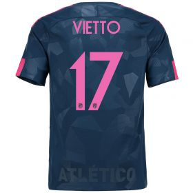 Atlético de Madrid Third Stadium Shirt 2017-18 Special Edition Metropolitano with Vietto 17 printing