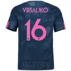 Atlético de Madrid Third Stadium Shirt 2017-18 Special Edition Metropolitano with Vrsaljko 16 printing