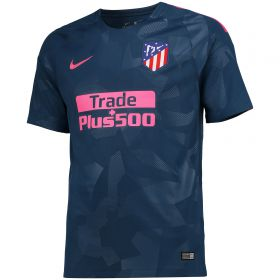 Atlético de Madrid Third Stadium Shirt 2017-18 with Gabi 14 printing