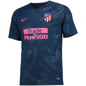 Atlético de Madrid Third Stadium Shirt 2017-18 with Saúl 8 printing