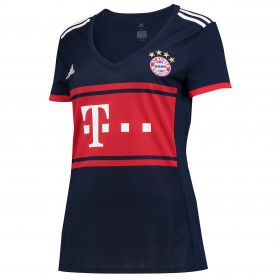 Bayern Munich Away Shirt 2017-18 - Womens with Lewandowski 9 printing