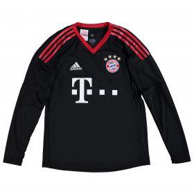 Bayern Munich Home Goalkeeper Shirt 2017-18 - Kids with Neuer 1 printing