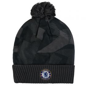 Chelsea Crest Beanie - Black