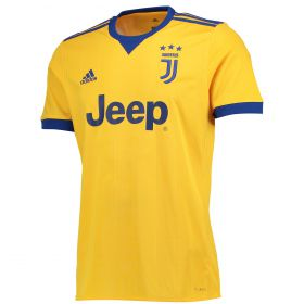 Juventus Away Shirt 2017-18 with Cuadrado 7 printing