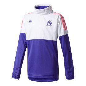 Olympique de Marseille Cup Training Hybrid Top - White - Kids