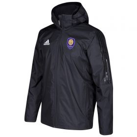 Orlando City SC Coaches Jacket - Black