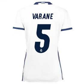 Real Madrid Home Jersey 2016/17 - women - with Varane 5 printing