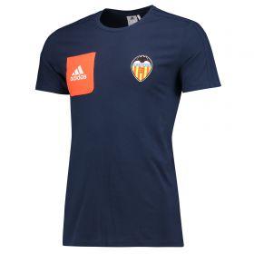 Valencia CF T-Shirt - Navy