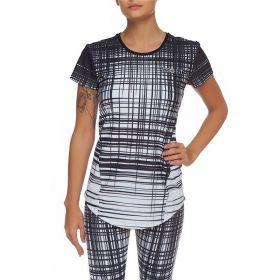 Дамска Тениска ZERO FIT White Striped