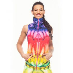 Дамски Елек EX FIT Training Vest Rinbow